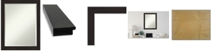 "Amanti Art Furniture Framed Bathroom Vanity Wall Mirror, 21.5"" x 27.50"""