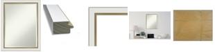 "Amanti Art Eva Gold-tone Framed Bathroom Vanity Wall Mirror, 21.12"" x 27.12"""