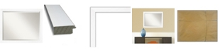 "Amanti Art Cabinet Framed Bathroom Vanity Wall Mirror, 31.25"" x 25.25"""