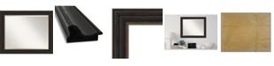 "Amanti Art Accent Framed Bathroom Vanity Wall Mirror, 33"" x 27"""