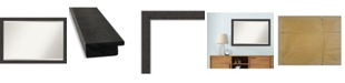 "Amanti Art Rustic Plank Framed Bathroom Vanity Wall Mirror, 39.25"" x 27.25"""