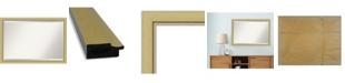 "Amanti Art Landon Gold-tone Framed Bathroom Vanity Wall Mirror, 39.38"" x 27.38"""