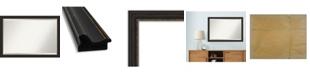 "Amanti Art Accent Framed Bathroom Vanity Wall Mirror, 39.5"" x 27.50"""