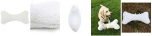 Carolina Pet Company Sherpa Bone Pillow Toy, Large