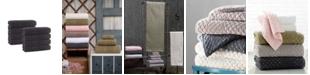 Enchante Home Glossy Turkish Cotton 8-Pc. Washcloth Set