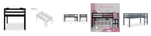 Dorel Living Jenna Junior Loft Bed, Twin