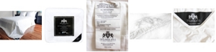 Triumph Hill Mulberry Silk Medium Weight Jacquard Cotton Casing Bed Comforter, Queen Size