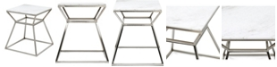 Adore Decor Audrey Tall Side Table