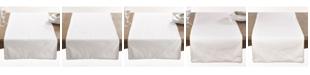 Saro Lifestyle Luana Collection Metallic Trimmed Table Runner