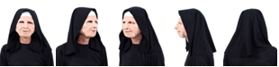 Zagone Studios ZagOne Size Studios Nun For You Latex Adult Costume Mask One Size