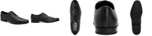 Calvin Klein Men's Dillinger Crust Leather Oxfords