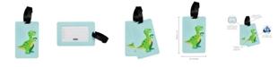 Wildkin Dinosaur Bag Tags, Pack of 2
