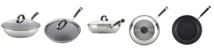 """Circulon Espree Stainless Steel Nonstick 12.5"""" Covered Deep Skillet"""