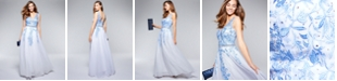 Say Yes to the Prom Juniors' Embellished Embroidered Gown, Created for Macy's