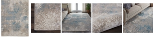 """Long Street Looms Fate FAT07 Ivory 3'9"""" x 5'9"""" Area Rug"""