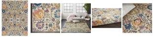 "Long Street Looms Zeal ZEA01 Ivory 3'9"" x 5'9"" Area Rug"