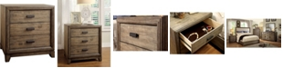 Furniture of America Muttex 3-drawer Nightstand