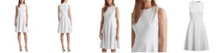 Lauren Ralph Lauren Floral Fit-and-Flare Dress