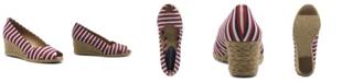 Adrienne Vittadini Women's Bailee Espadrille Wedge Sandal