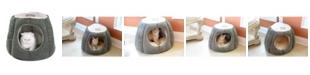 Armarkat Cat Cave Shape Anti- Slip Waterproof Base Bed