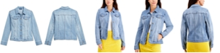 Charter Club Button-Up Denim Jacket, Created for Macy's