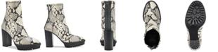 Vince Camuto Women's Erettie Lug Sole Platform Booties