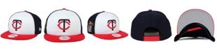 New Era Minnesota Twins 2 Tone Link 9FIFTY Snapback Cap