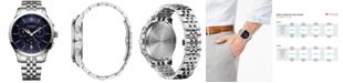 Victorinox Swiss Army Men's Swiss Chronograph Alliance Stainless Steel Bracelet Watch 44mm 241746