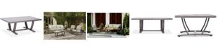 Furniture Tara Aluminum Outdoor Rectangle Coffee Table, Created for Macy's