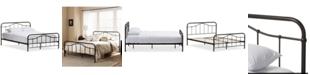 Furniture Upton Platform Bed - Queen, Quick Ship