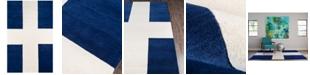 "Novogratz Collection Novogratz by Momeni Delmar DEL07 2' 3"" x 8'  Runner Area Rug"