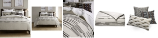 Hotel Collection CLOSEOUT! Global Stripe Duvet Covers, Created for Macy's