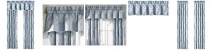 "Piper & Wright Ansonia Indigo Straight 88"" x 16"" Window Valance"