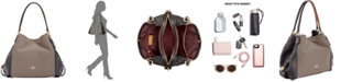 COACH Legacy Jacquard Edie 31 Medium Shoulder Bag