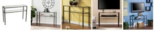 Southern Enterprises Metal Sofa Table