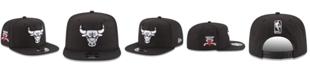 New Era Chicago Bulls Anniversary Patch 9FIFTY Snapback Cap