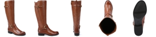 Naturalizer Jillian Leather Wide Calf Riding Boots