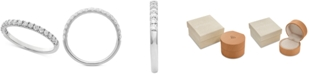 Grown With Love Lab Grown Diamond Band (3/8 ct. t.w.) in 14k White Gold