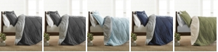 ienjoy Home Restyle your Room Reversible Comforter Set by The Home Collection, Queen/Full