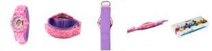 ewatchfactory Disney Princess Girls' Pink Plastic Time Teacher Watch
