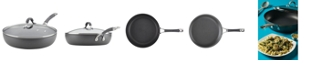 """Circulon Radiance Hard-Anodized Nonstick 12"""" Covered Deep Skillet"""