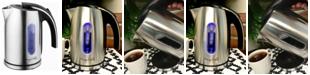 MegaChef 1.2Lt. Stainless Steel Electric Tea Kettle
