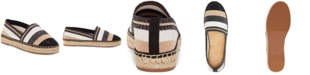 INC International Concepts INC Women's Corvina Capped-Toe Woven Espadrille Flats, Created for Macy's