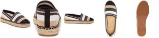 INC International Concepts I.N.C. Women's Corvina Capped-Toe Woven Espadrille Flats, Created For Macy's