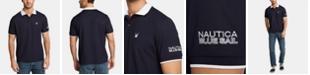 Nautica Nautica Men's Big & Tall Logo Graphic Polo, Created for Macy's