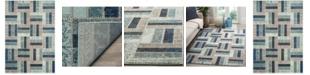 "Safavieh Monaco Gray and Blue 5'1"" x 7'7"" Area Rug"