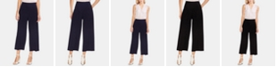 Vince Camuto Cropped Wide-Leg Pants