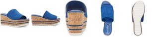 Nine West Reagan Cork Wedge Sandals