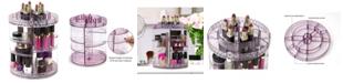 Sorbus Rotating Makeup Organizer - 360 Degree Rotating Adjustable Carousel Storage