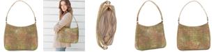 Brahmin Noelle Atlas Melbourne Embossed Leather Shoulder Bag